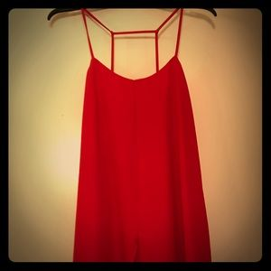 Sexy red dress from Topshop